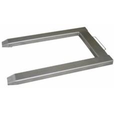 Plataforma de pesagem c/ 4 células c/ porta paletes